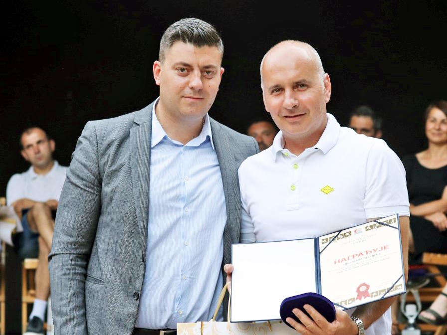 Vesnić primio nagradu za Sportistu godine 2020. grada Užica